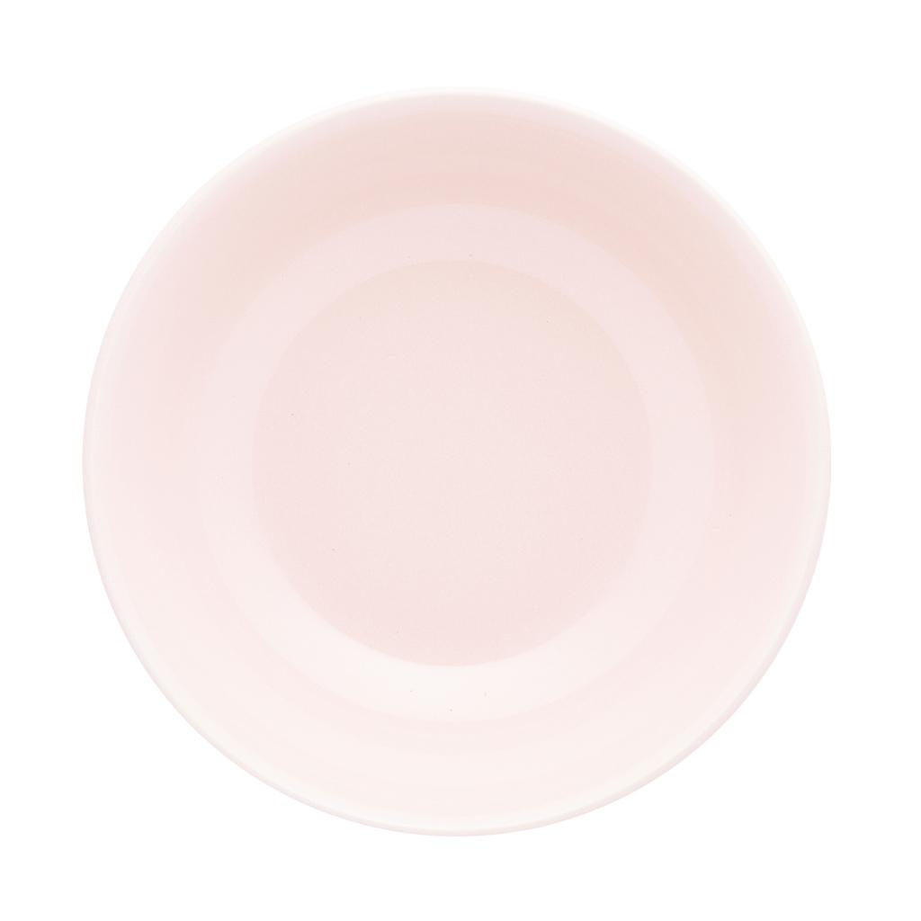 Jogo de Pratos Fundos Rosa Oxford Milenial 20,5cm 6 Unidades