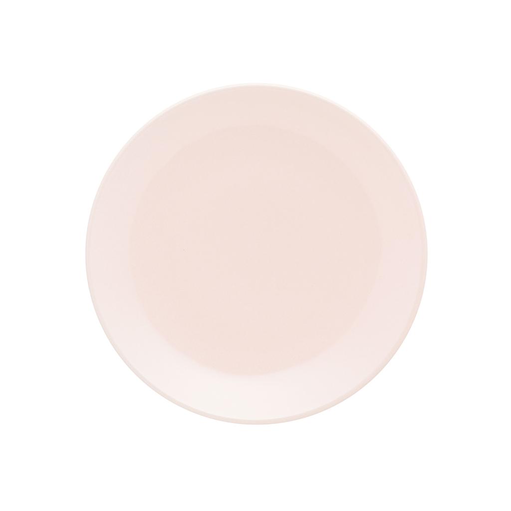 Jogo de Pratos Rosa de Sobremesa Oxford Milenial 19cm 6 Unidades