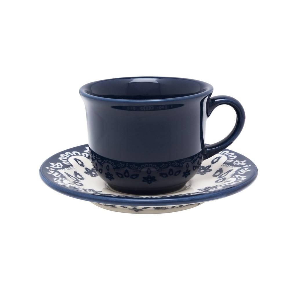 Jogo de Xícaras de Chá Oxford Floreal Energy 200ml 6 Unidades