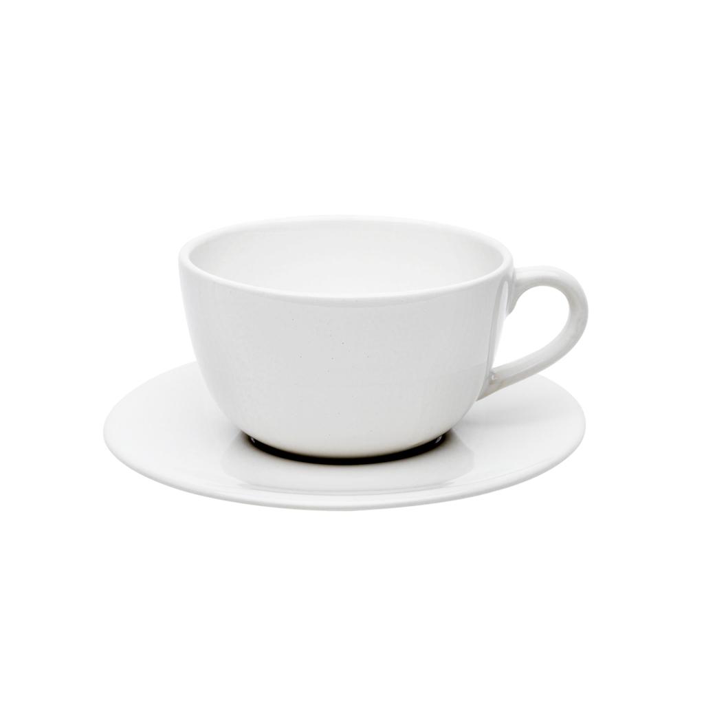 Jogo de Xícaras de Chá Oxford White 200ml 6 Unidades