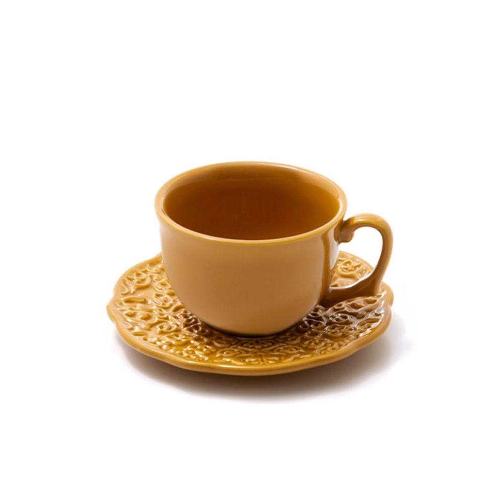 Jogo De Xícaras de Chá Rita Lobo Marrakech Panelinha 6 Unidades