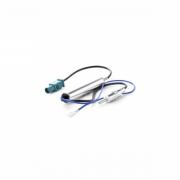 Adaptador de Antena Amplificada Fiamon Novo Jetta / Citroen / Peugeot / Audi / BMW 40141