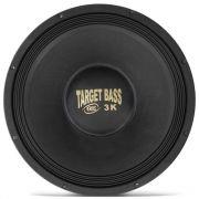Alto Falante Eros 15'' 3000W 4 Ohms E15 Target Bass 3.0K Cromado