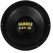 """Alto Falante Eros 12"""" Hammer 3.0k 3000W 4 Ohms"""