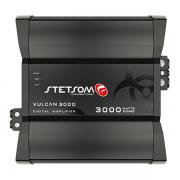 Amplificador Digital Stetsom Vulcan 3000W 1 Canal 2 Ohms