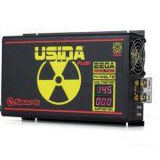 Fonte Carregador Usina 220A Bi-volt Display VOLT/AMP