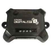 Kit Strobo Digital AJK com Bluetooth + 2 faróis 3W