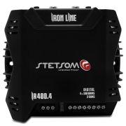 Módulo Amplificador Stetsom Iron Line IR400.4 Canais 400W RMS