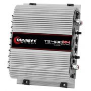 Módulo Amplificador Taramps TS400x4 400W RMS 4 Canais 2 Ohms