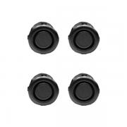 Sensor de estacionamento Knup 21mm Preto 4 pontos KP-S100