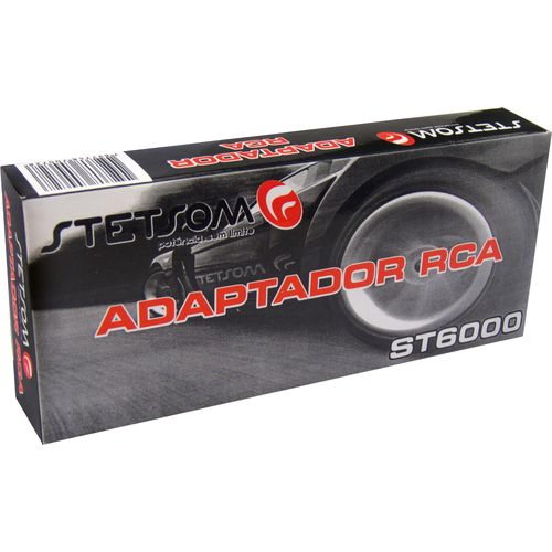 Adaptador / Conversor RCA Stetsom ST 6000 Remote