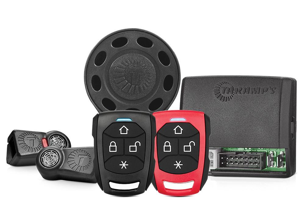 Alarme Taramps TW20 G4 com 2 controles TR2 e 1 Sirene dedicada