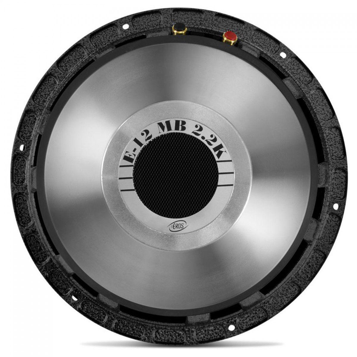 """Alto Falante Eros 12"""" 1100W RMS 4 Ohms E12 MB 2.2k"""
