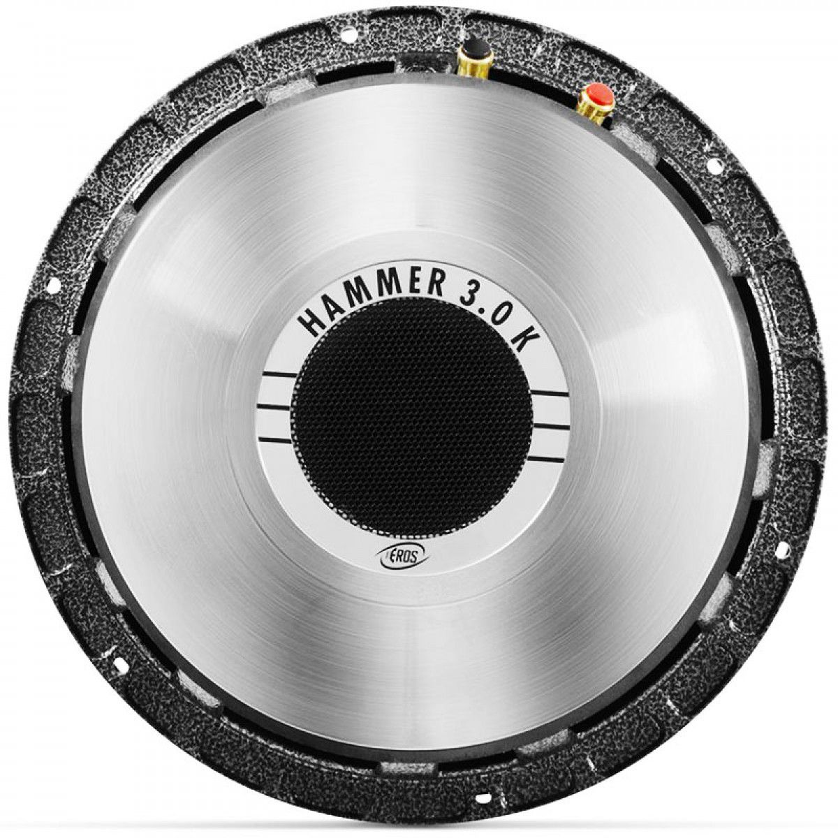 """Alto Falante Eros 12"""" 1500W RMS 4 Ohms Hammer 3.0k"""
