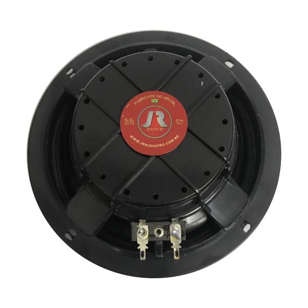 "Par de Alto Falantes JR Audio 6"" Triaxial 220W 4 Ohms JR6T55CX"