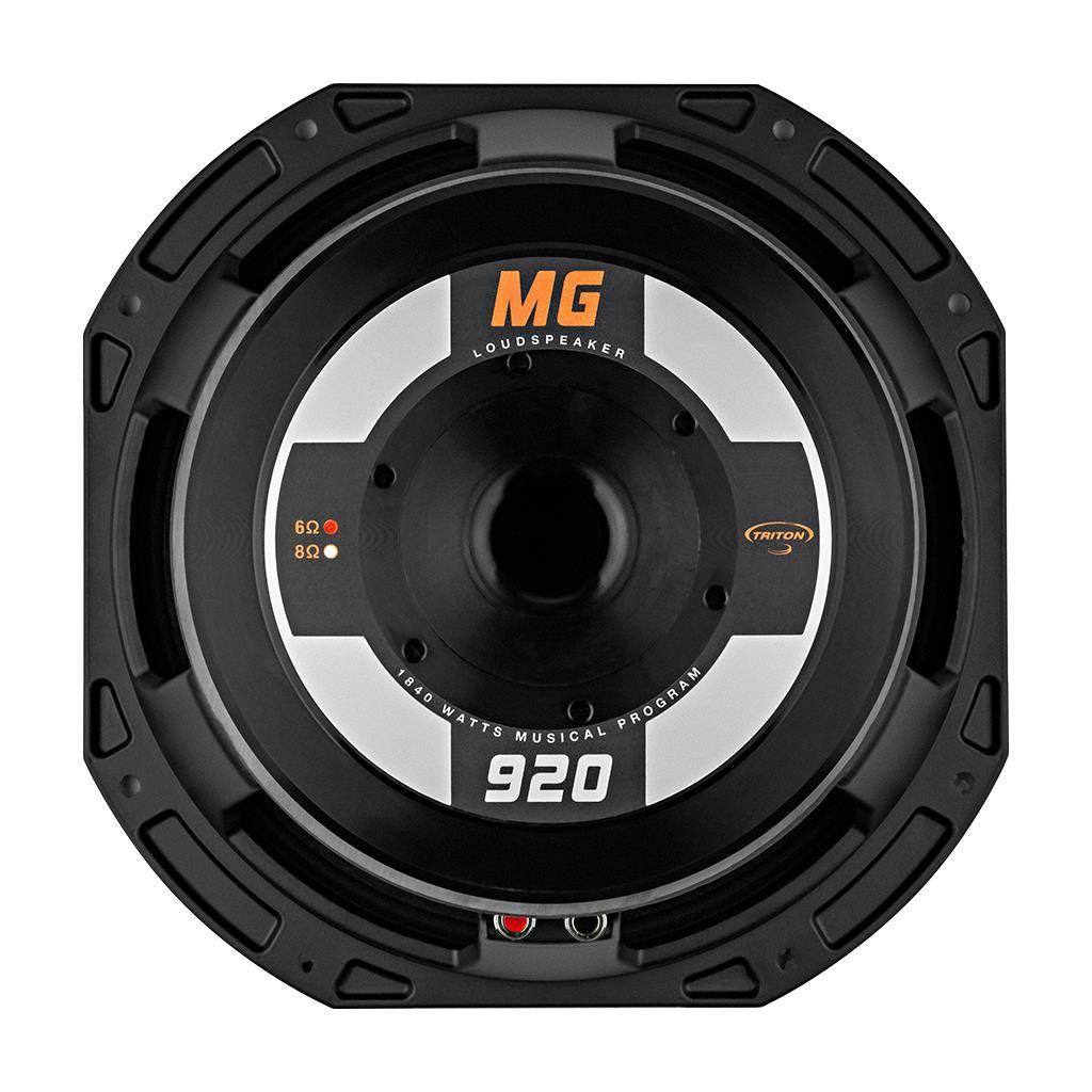 """Alto Falante Triton 12"""" 1840W 6 Ohms Pro Audio TR MG920"""