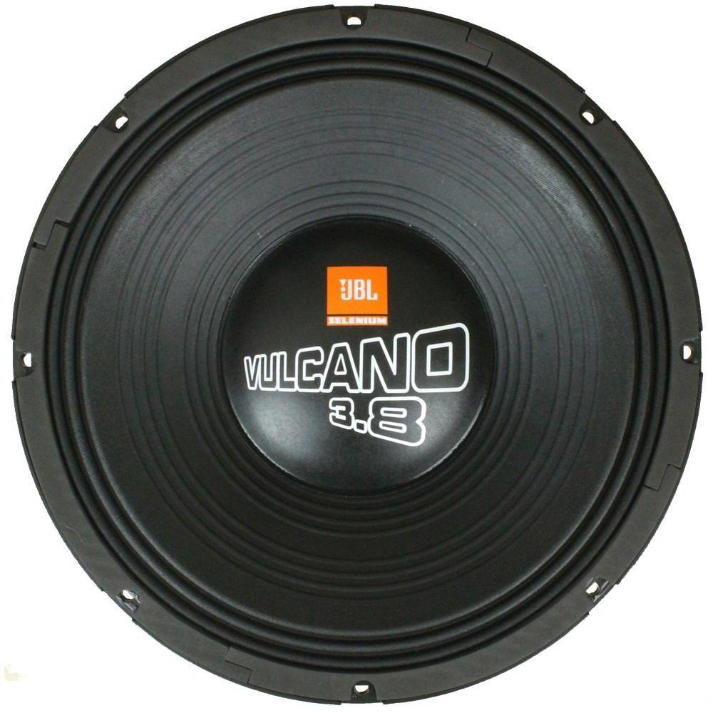 """Alto Falante JBL Vulcano 18"""" 18 SWV 3800 Grave 3800W 4 Ohms"""