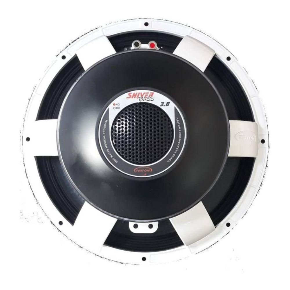 "Alto Falante Triton 15"" 3.800W 4 Ohms Woofer Shiver Bass"