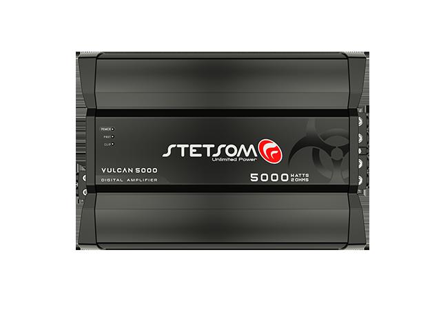 Amplificador Digital Stetsom Vulcan 5000W 1 Canal 2 Ohms 5000.1