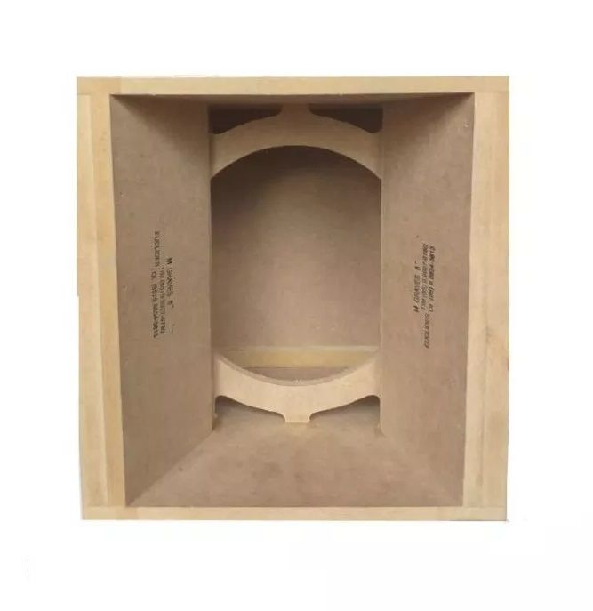 "Caixa De Médio Grave Euclides 8"""