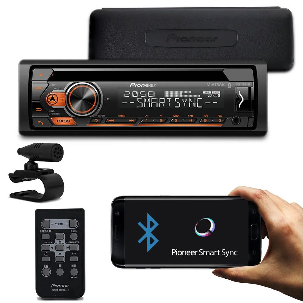 CD Player Pioneer DEH-S4180BT