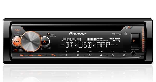 CD Player Pioneer DEH-X5000BR