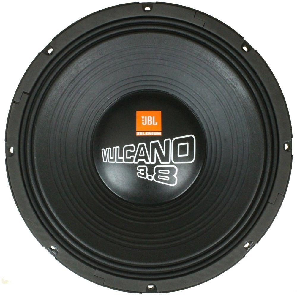 """Alto Falante JBL Vulcano 15"""" 15 SWV 3800 Grave 3800W 4 Ohms"""