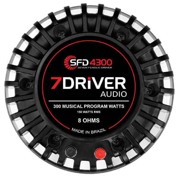 Driver 7Driver SFD 4300 300W 8 Ohms