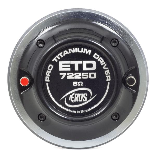 Driver Eros Titanium 125W RMS 8 Ohms ETD 72250TI