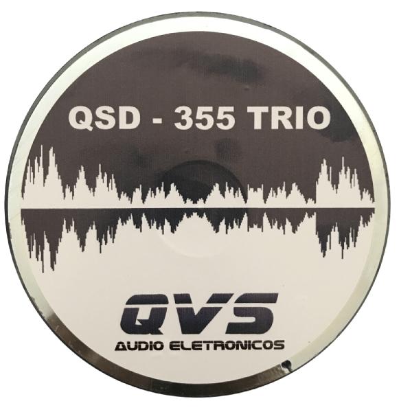"Driver QVS 1"" QSD 355 Trio 200W RMS 8 Ohms"