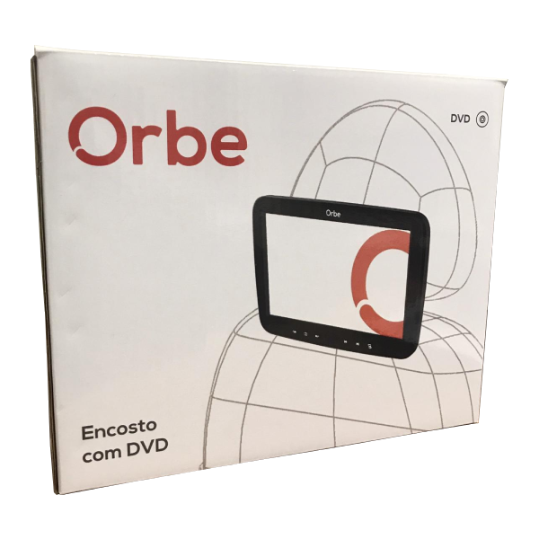 Monitor Encosto Orbe com DVD