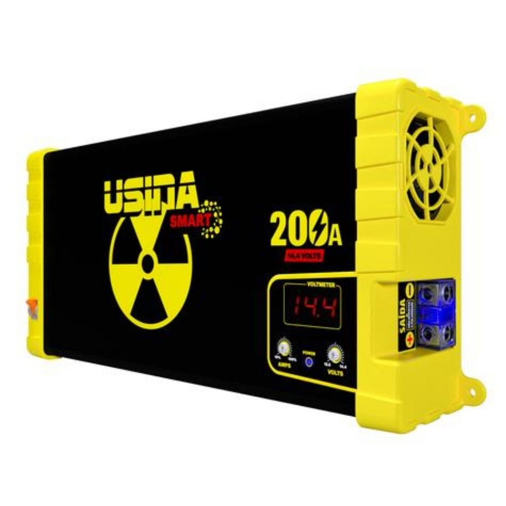 Fonte Automotiva Digital Spark Usina 200A Smart 220V Mono Volt