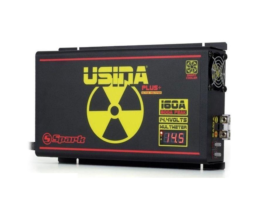 Fonte Carregador Usina 160A Bi-Volt Display VOLT/AMP