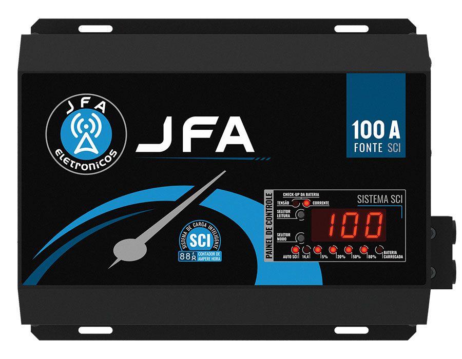 Fonte e Carregador JFA 100A