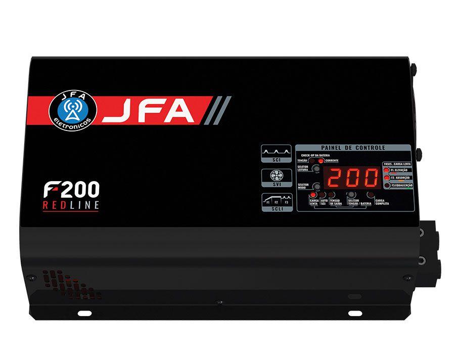 Fonte e Carregador JFA 200A Bi-Volt RedLine