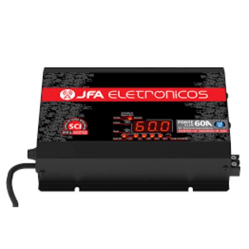 Fonte e Carregador de Bateria JFA 60A