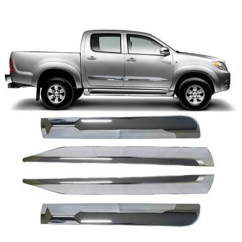 Friso Lateral Hilux Cromado