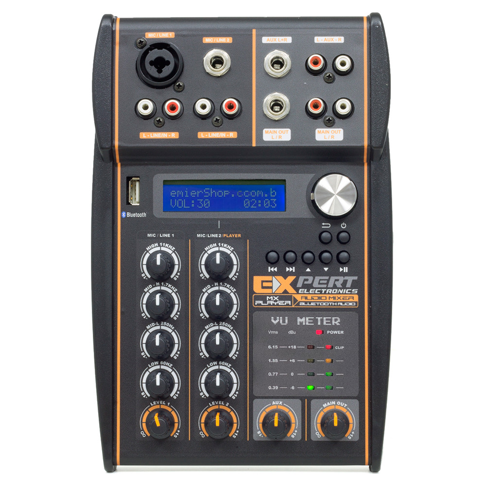 Mesa de Som Expert Electronics MX Player