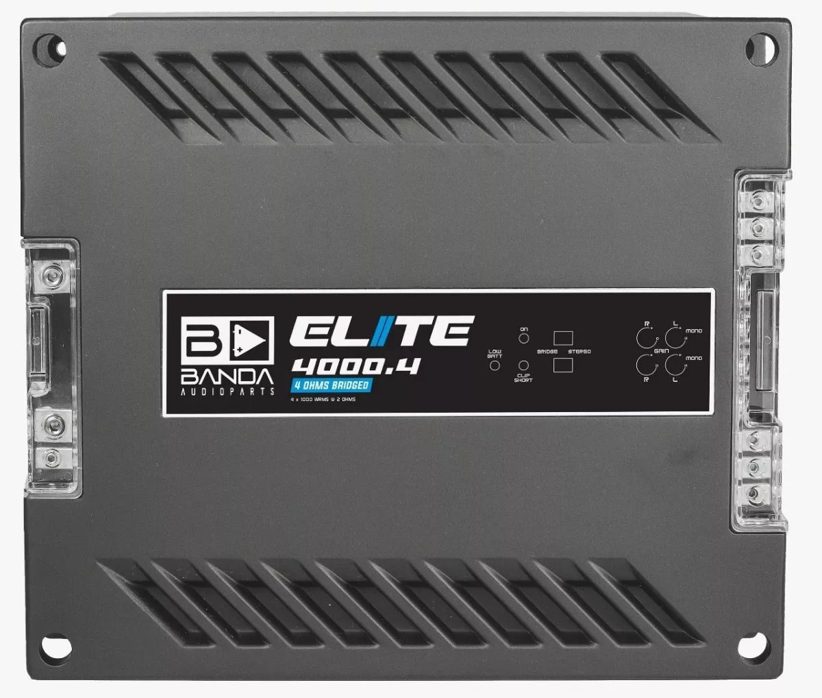 Módulo Amplificador Banda Elite 4000 4 Canais 1 Ohm