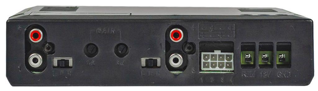 Módulo Amplificador Banda 400 4 Canais Preto 2 Ohms