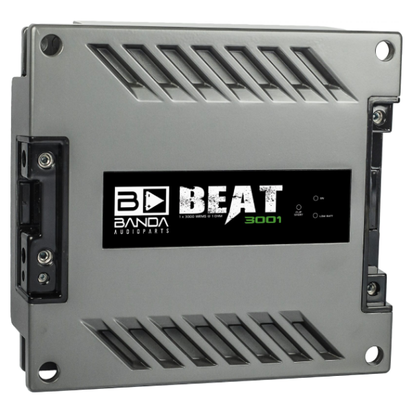 Módulo Amplificador Banda Beat 3001 1 Canal 2 Ohms