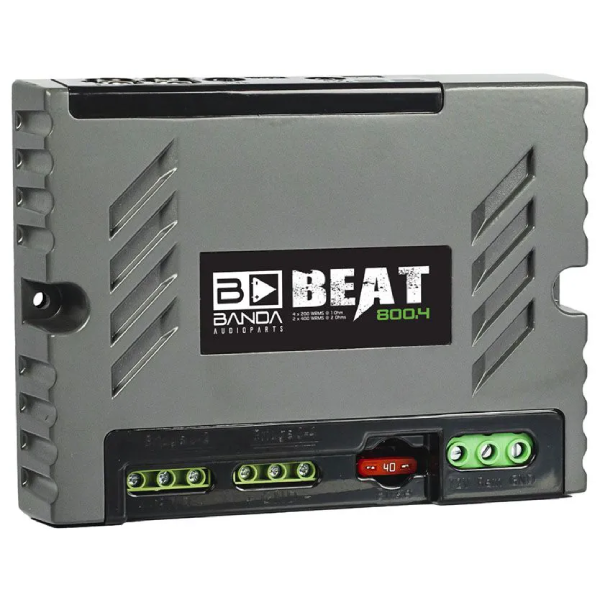 Módulo Amplificador Banda Beat 800.4 4 Canais 2 Ohms