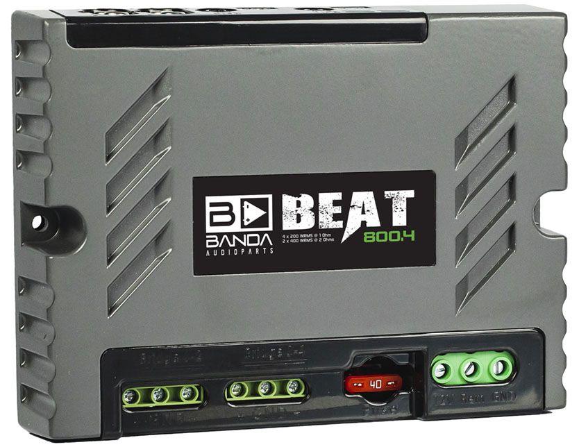 Módulo Amplificador Banda Beat 800.4 4 Canais 1 Ohm