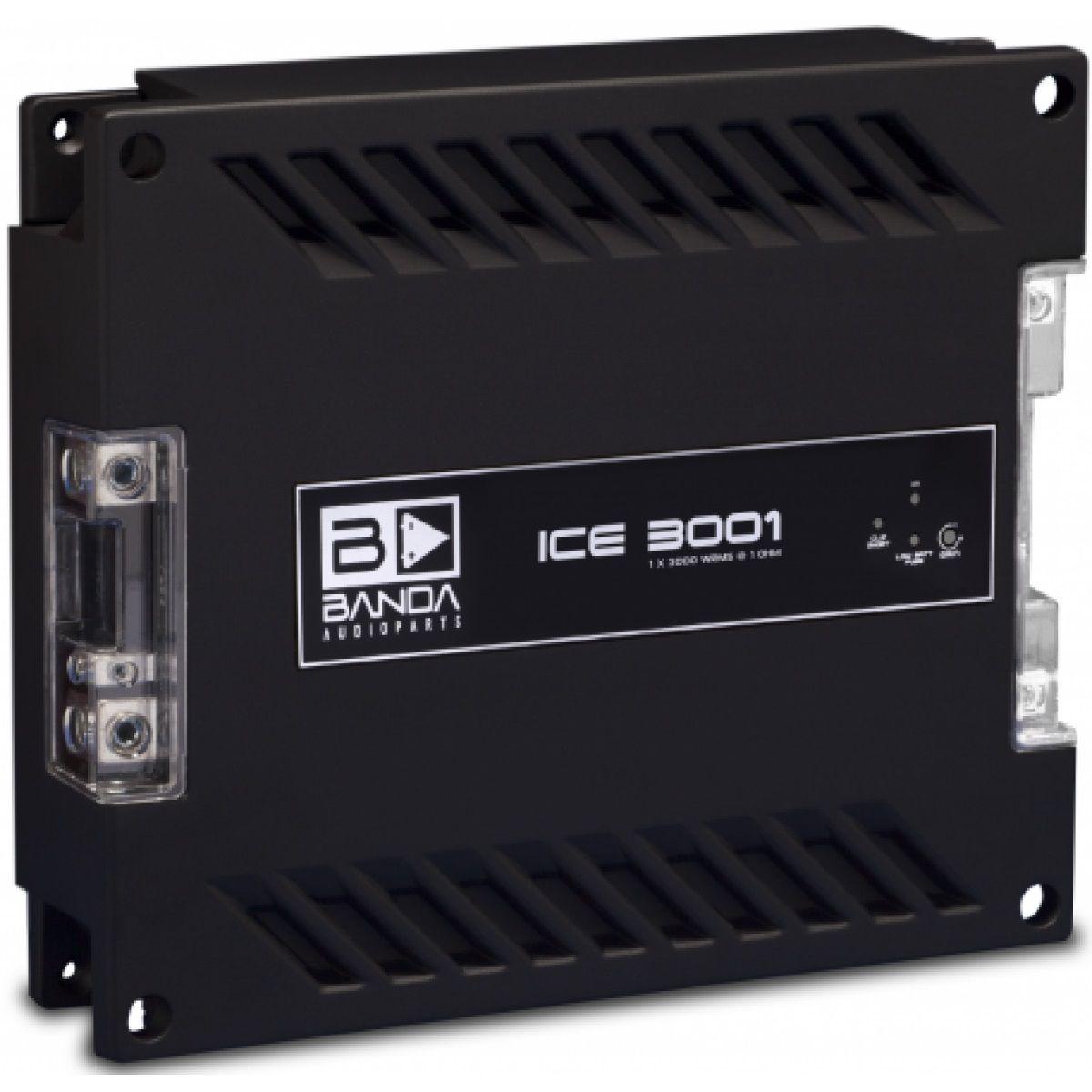 Módulo Amplificador Banda ICE X 3001 1 Canal 1 Ohms