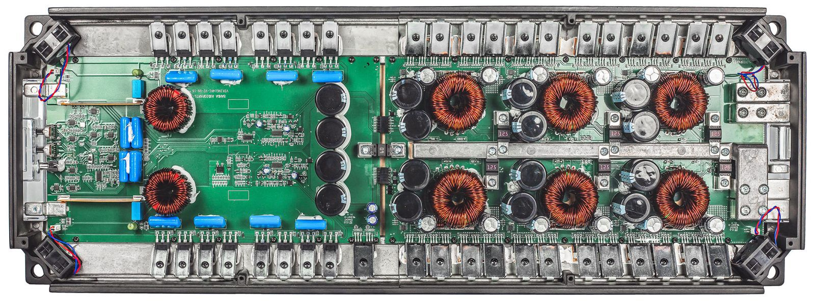 Módulo Amplificador Banda Viking 15000 1 Canal 1 Ohm