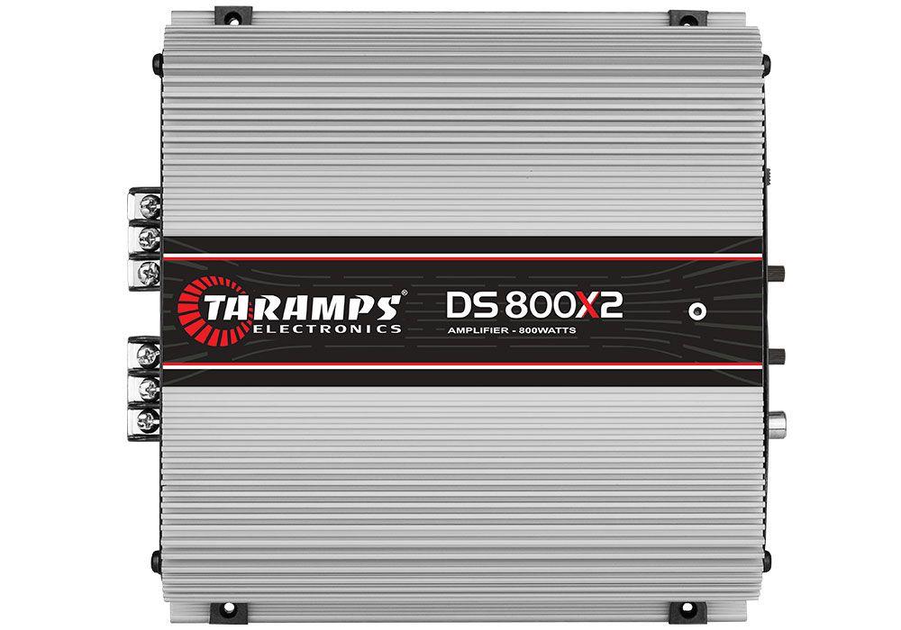 Módulo Amplificador Class D Taramps DS 800x2 800W 2 Canais 2 Ohms