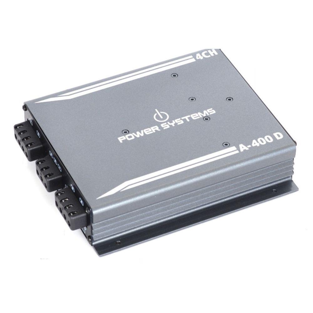 Módulo Amplificador Digital Power Systems A400D 4 Canais