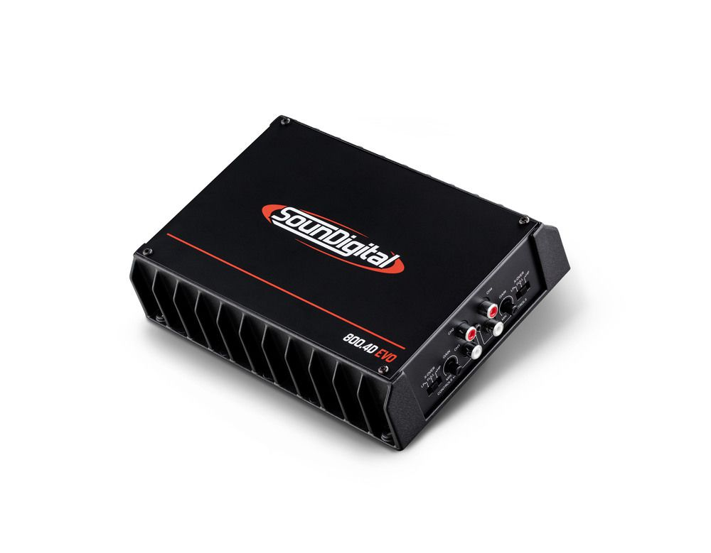 Módulo Amplificador Soundigital SD800 4 Canais 2 Ohms