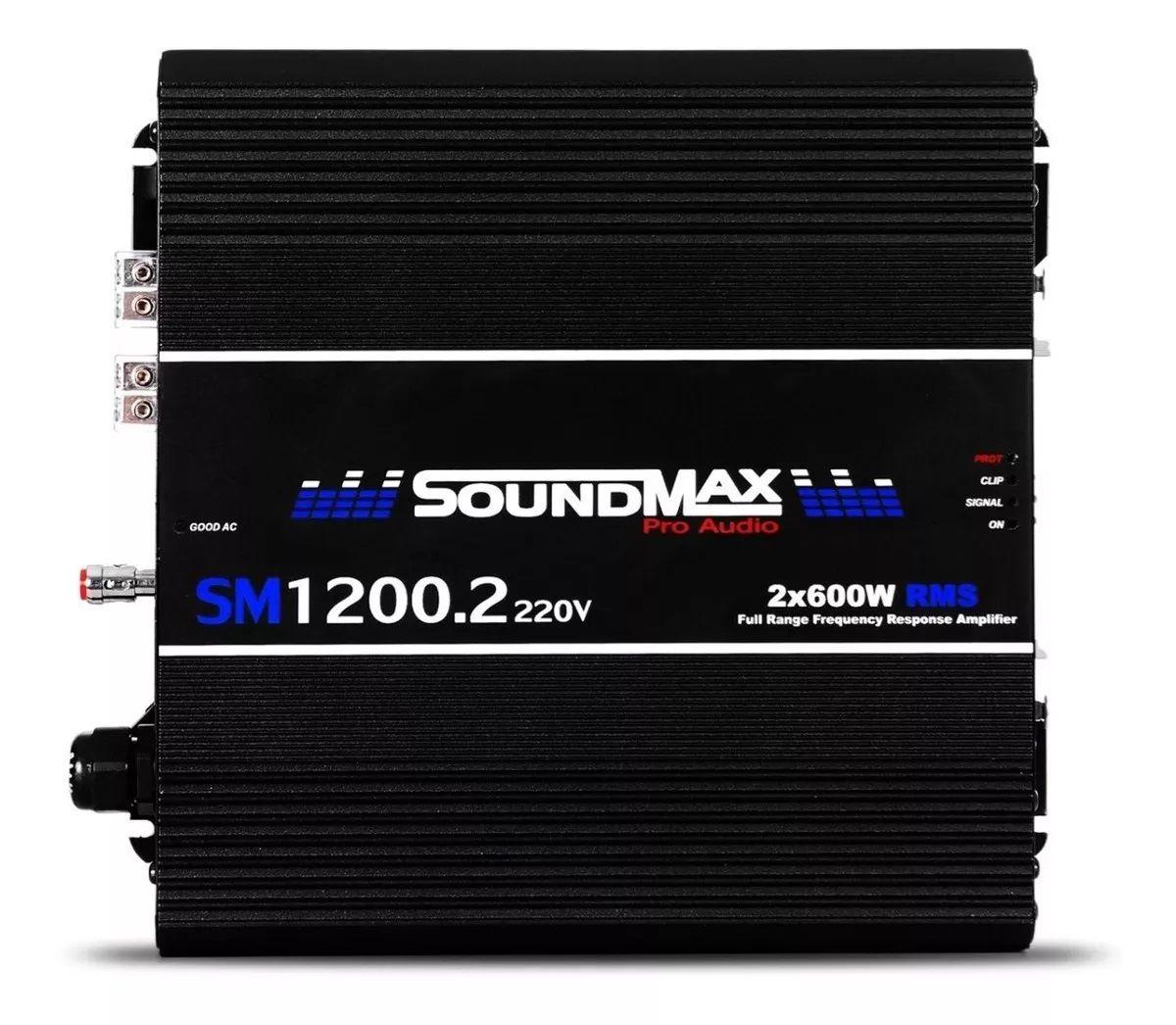 Módulo Amplificador Soundmax 1.2 220v