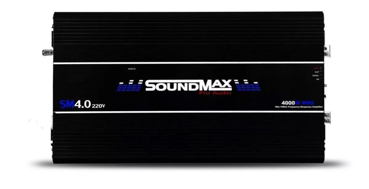 Módulo Amplificador Soundmax 4.0 1 Ohms 220v